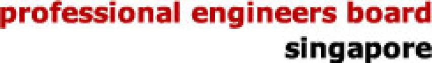 El Consejo Profesional de Ingeniería de Singapur Logo