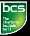 BCS, el Instituto Colegiado de TI Logo